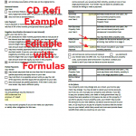 Closing Disclosure Form Refinance Example page 4